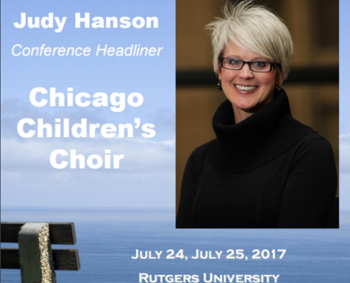 brochure cover with Judy Hanson